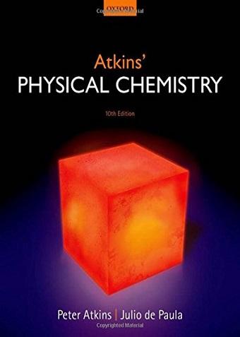 کتاب شیمی فیزیک اتکینز ویرایش دهم سال 2014